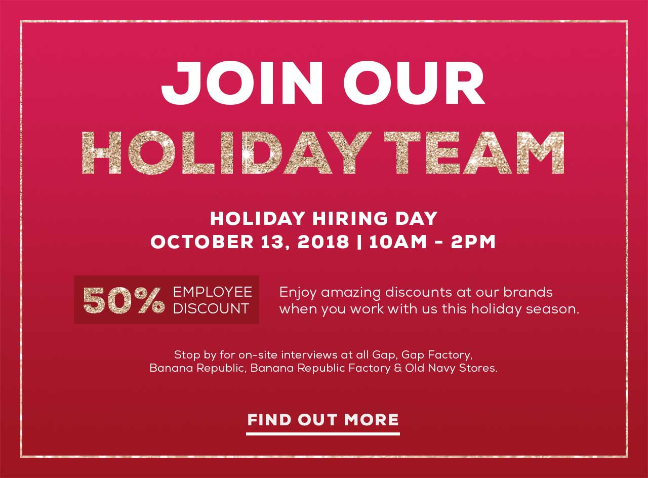 JOIN OUR HOLIDAY TEAM | FIND OUT MORE
