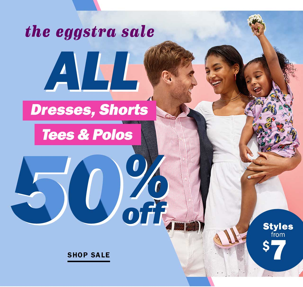 The eggstra sale