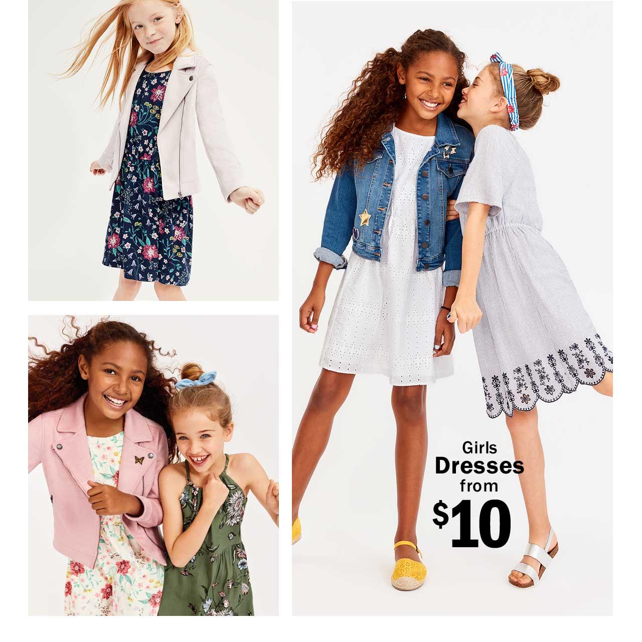 Girls Dresses from $10