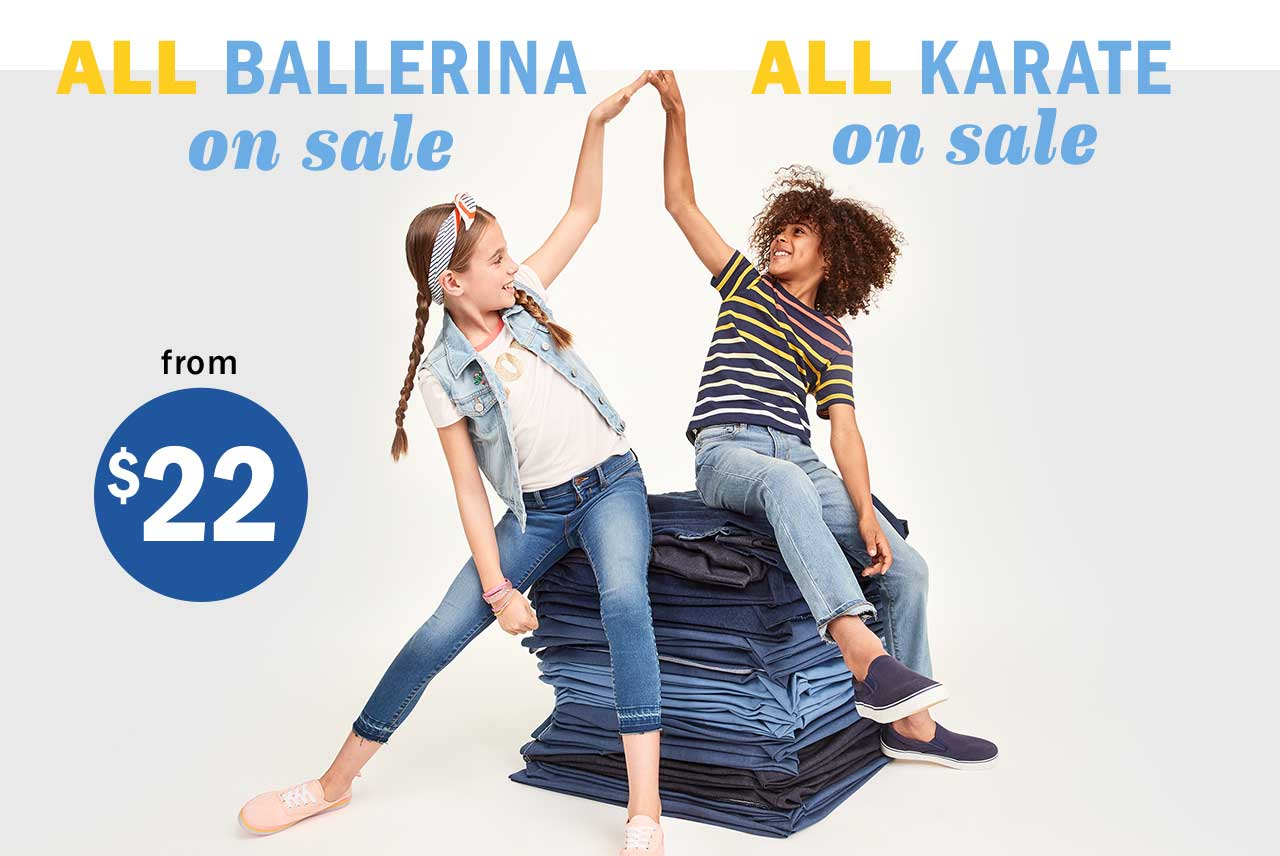 ALL BALLERINA on sale | ALL KARATE on sale