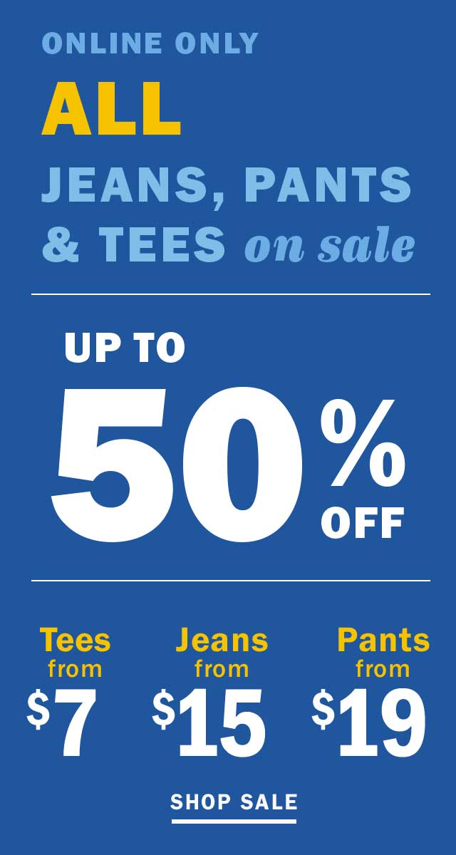 UP TO 50% OFF | SHOP SALE