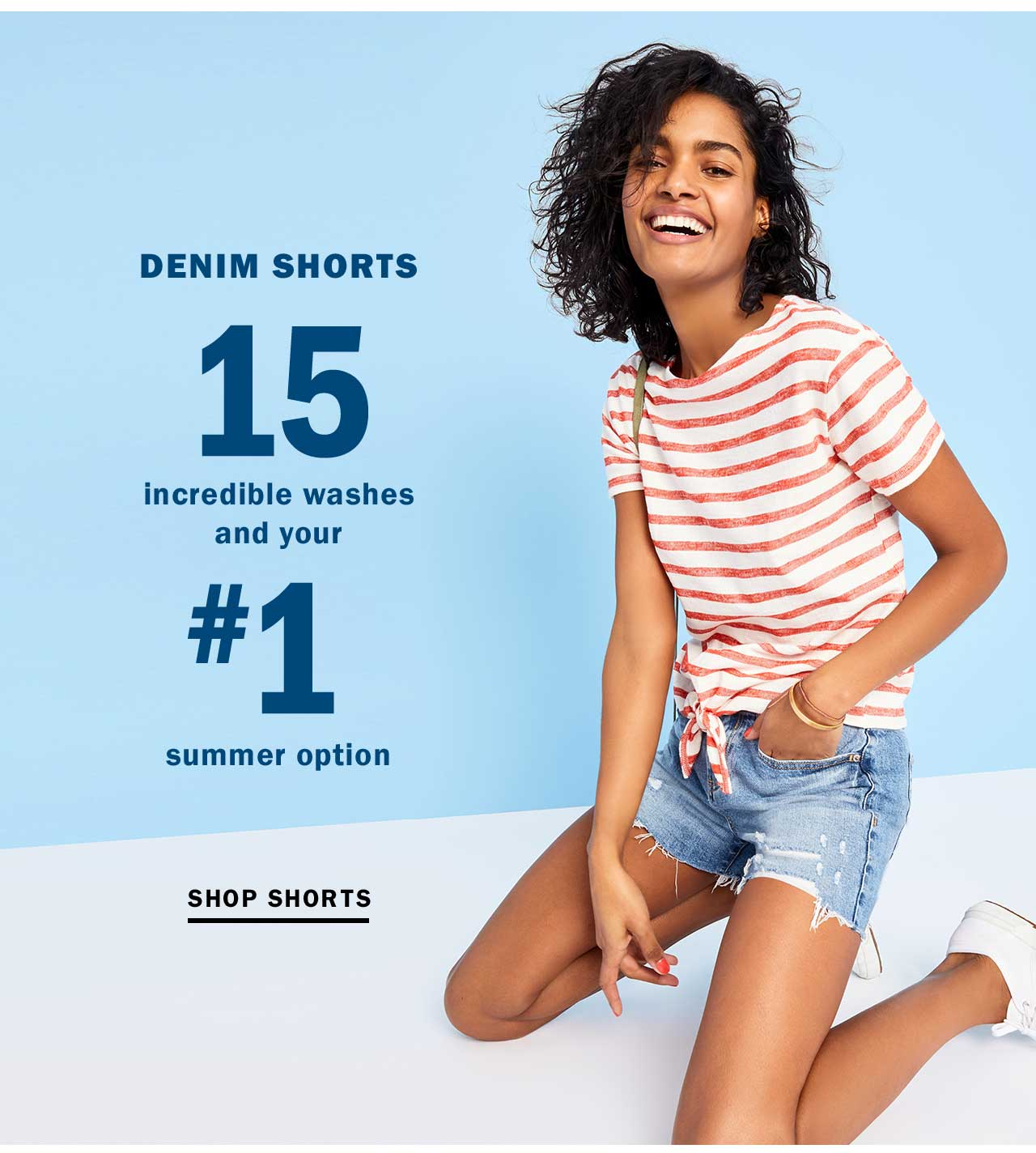 DENIM SHORTS | SHOP SHORTS