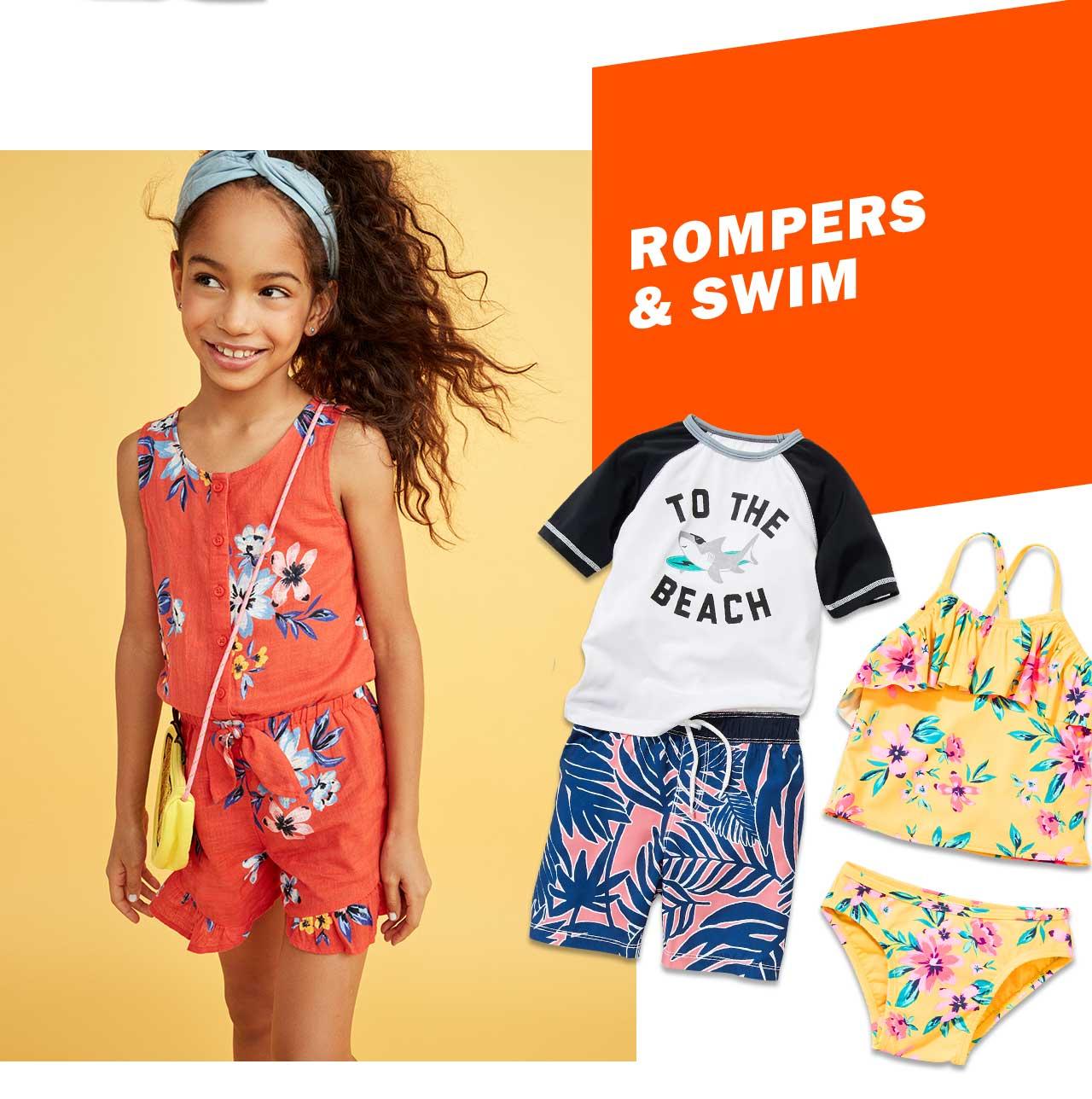 ROMPERS & SWIM