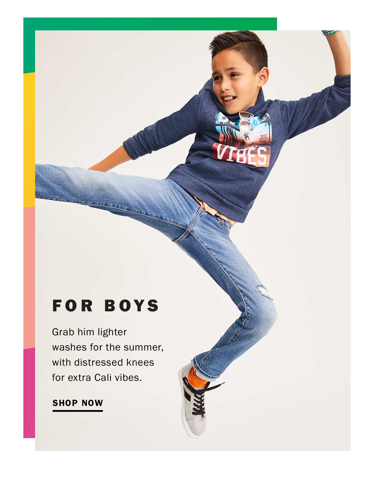 FOR BOYS | SHOP NOW