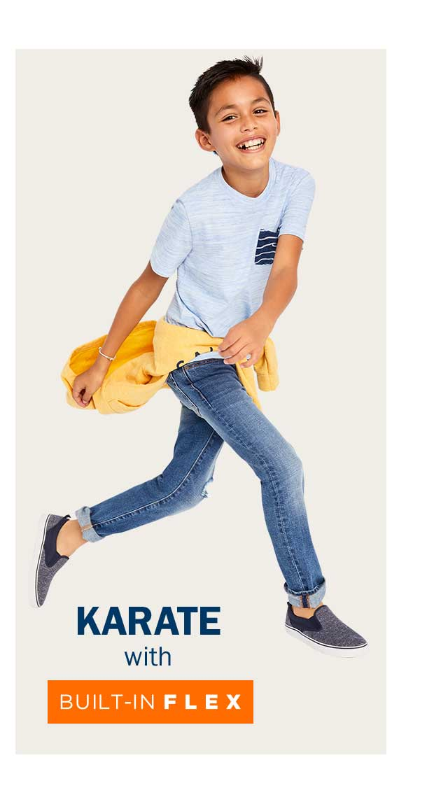 KARATE with BUILT-IN FLEX