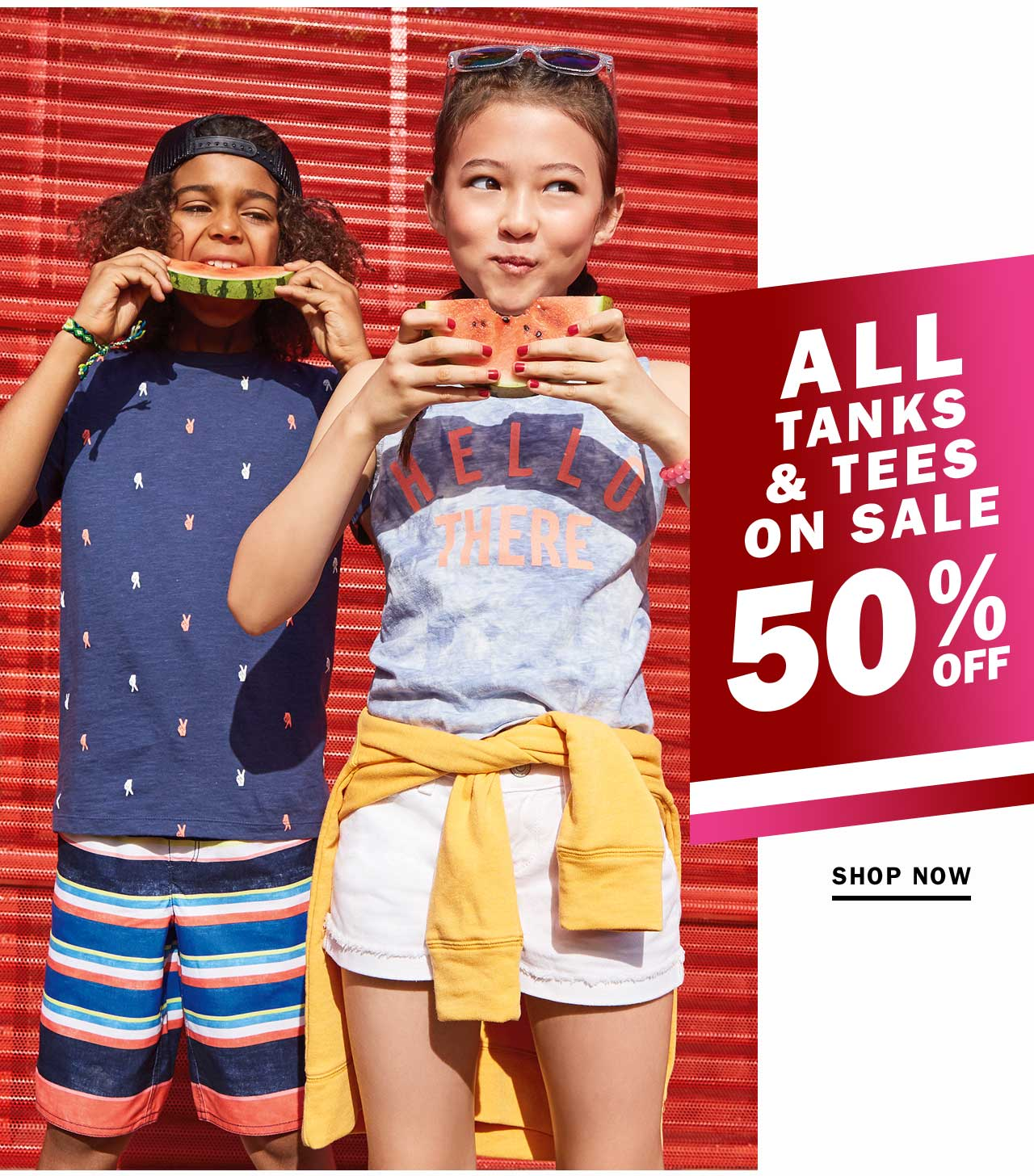 ALL TANKS & TEES ON SALE 50% OFF | SHOP NOW