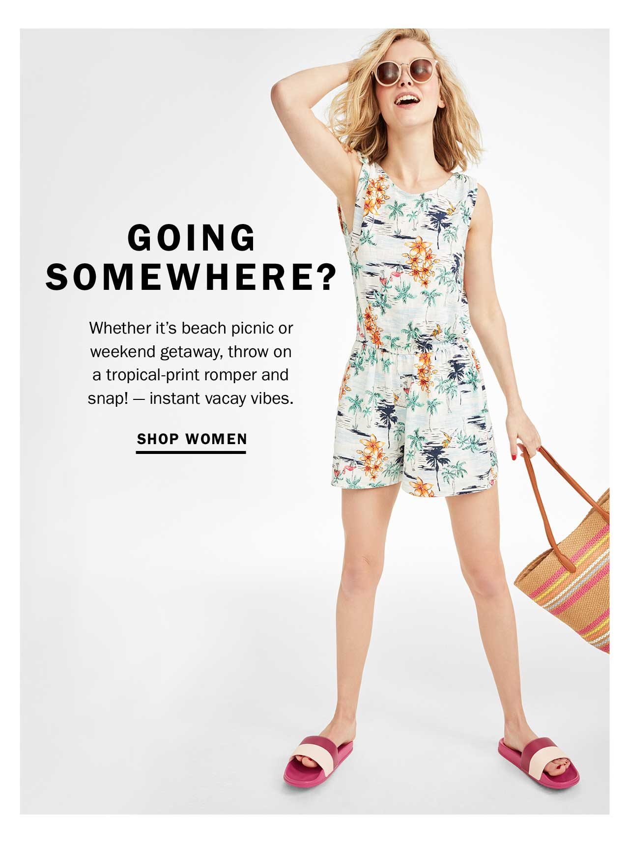 GOING SOMEWHERE? | SHOP WOMEN