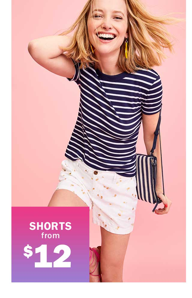 SHORTS from $12