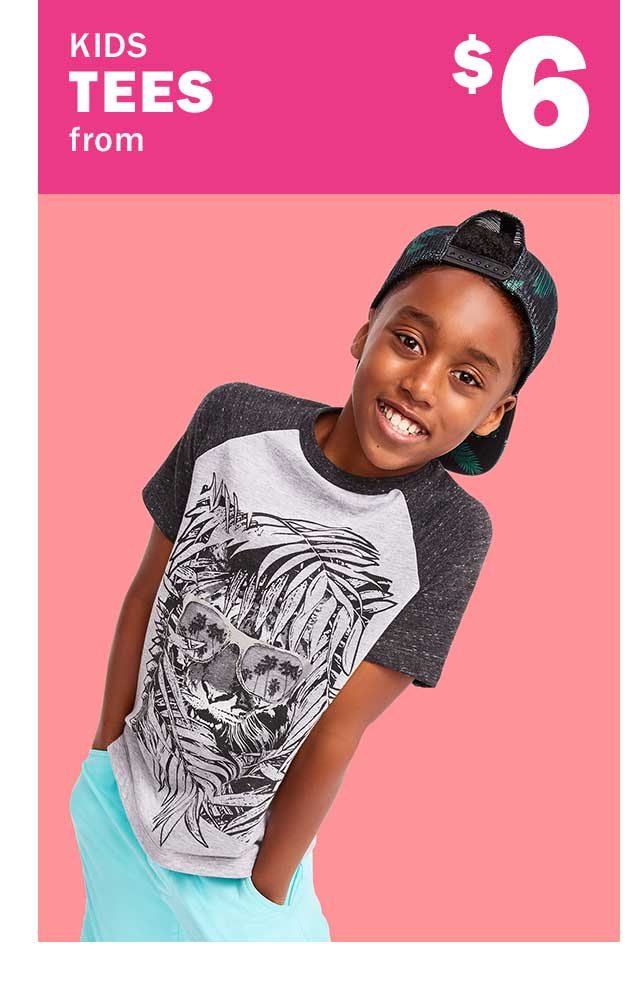 KIDS TEES from $6