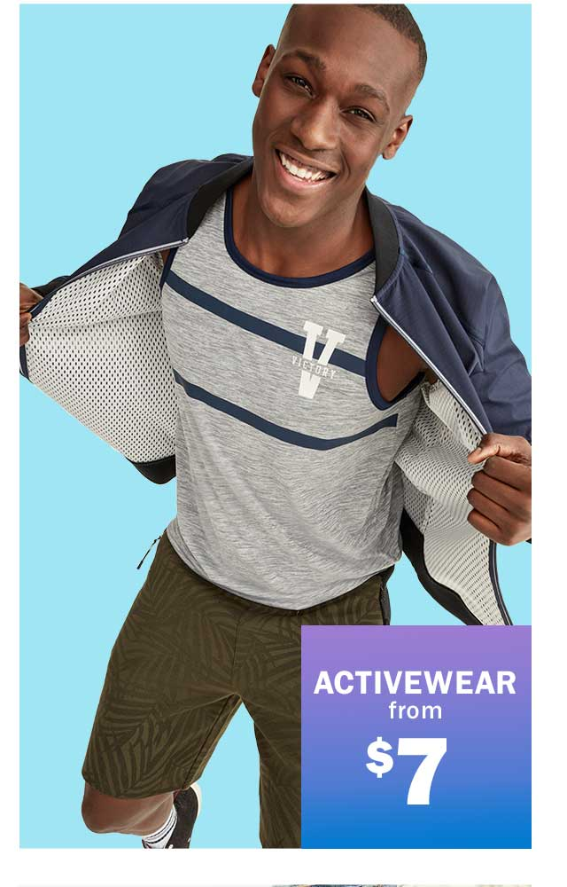 ACTIVEWEAR from $7
