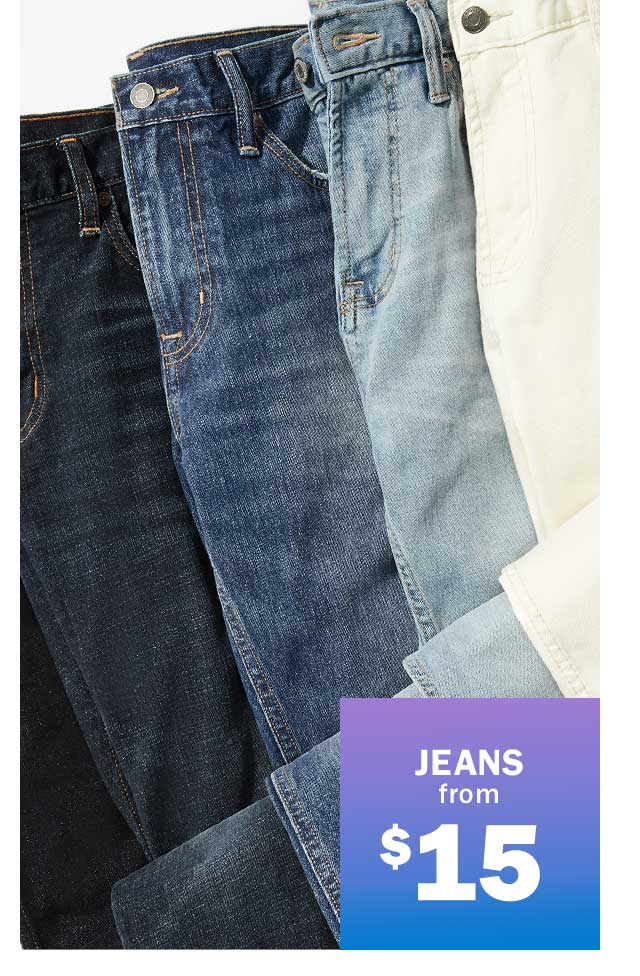 JEANS from $15