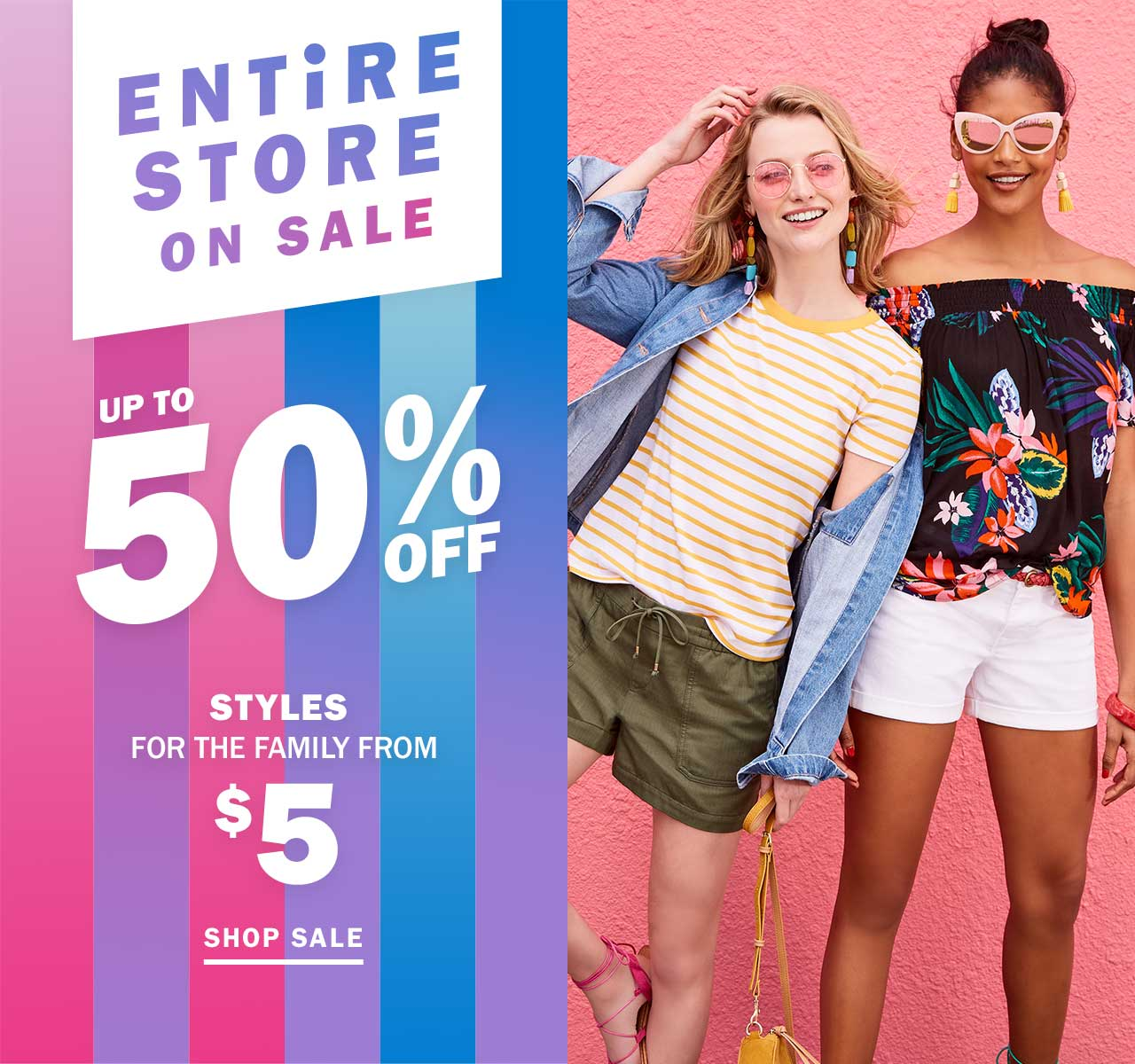 ENTiRE STORE ON SALE | UP TO 50% OFF