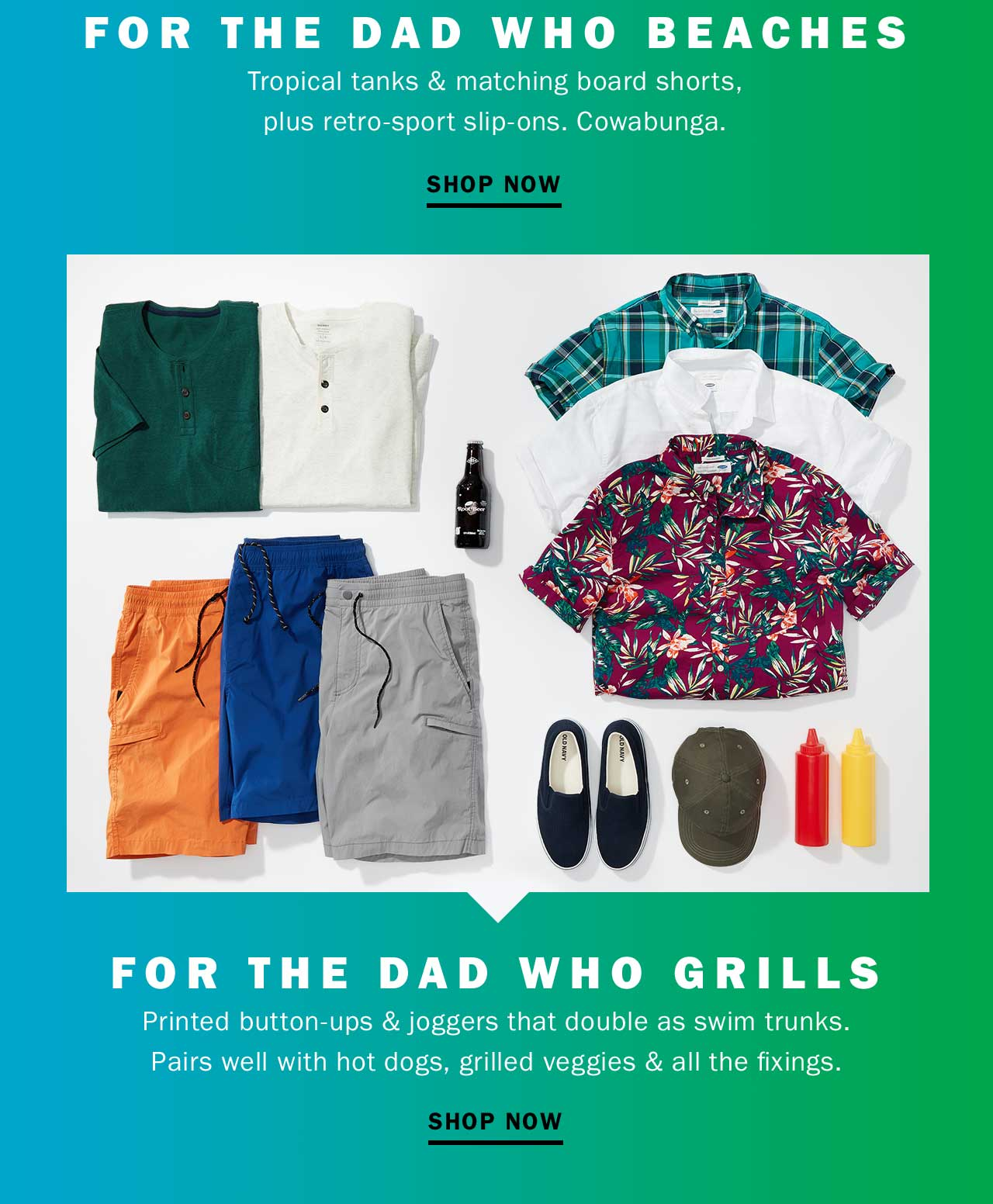 FOR THE DAD WHO BEACHES | SHOP NOW