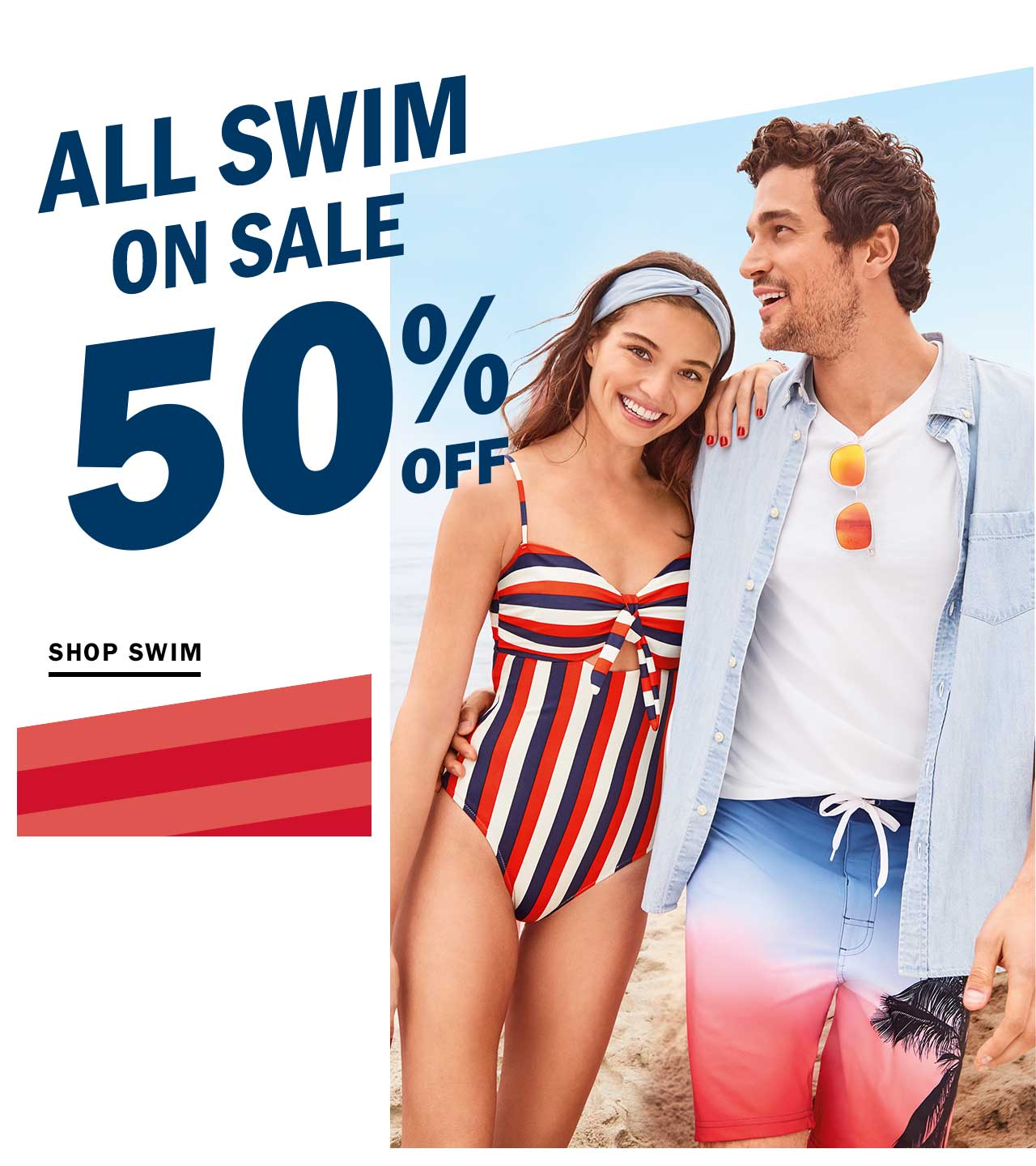 ALL SWIM ON SALE 50% OFF | SHOP SWIM
