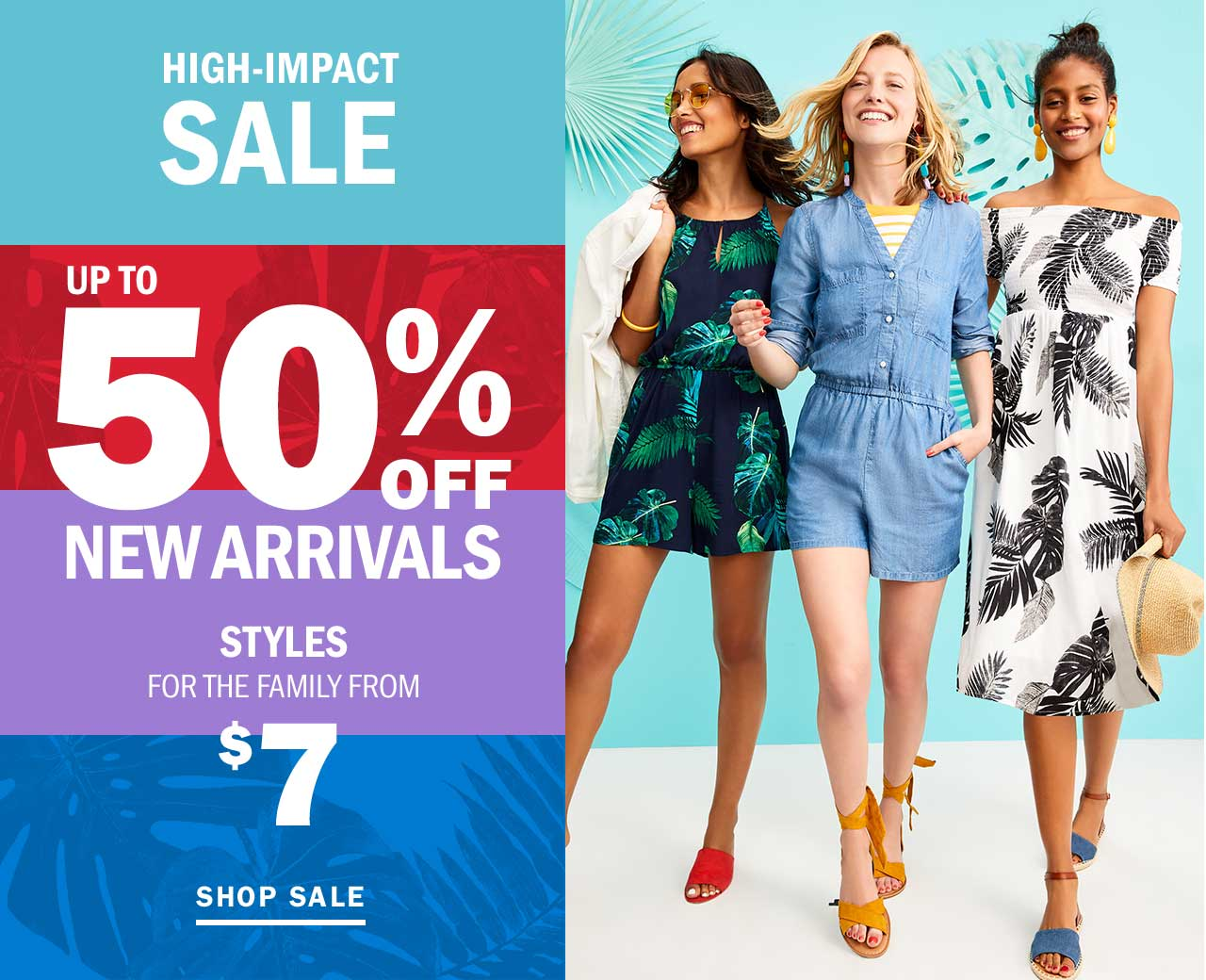 UP TO 50% OFF NEW ARRIVALS | SHOP SALE