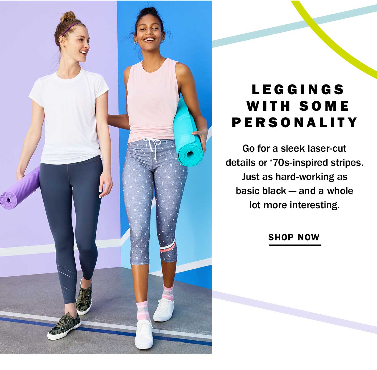 LEGGINGS WITH SOME PERSONALITY | SHOP NOW