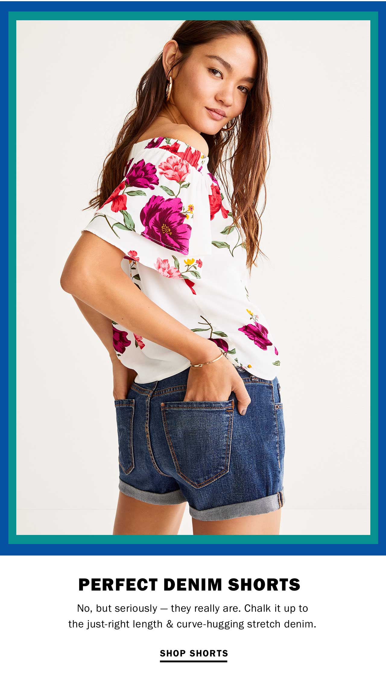 PERFECT DENIM SHORTS | SHOP SHORTS