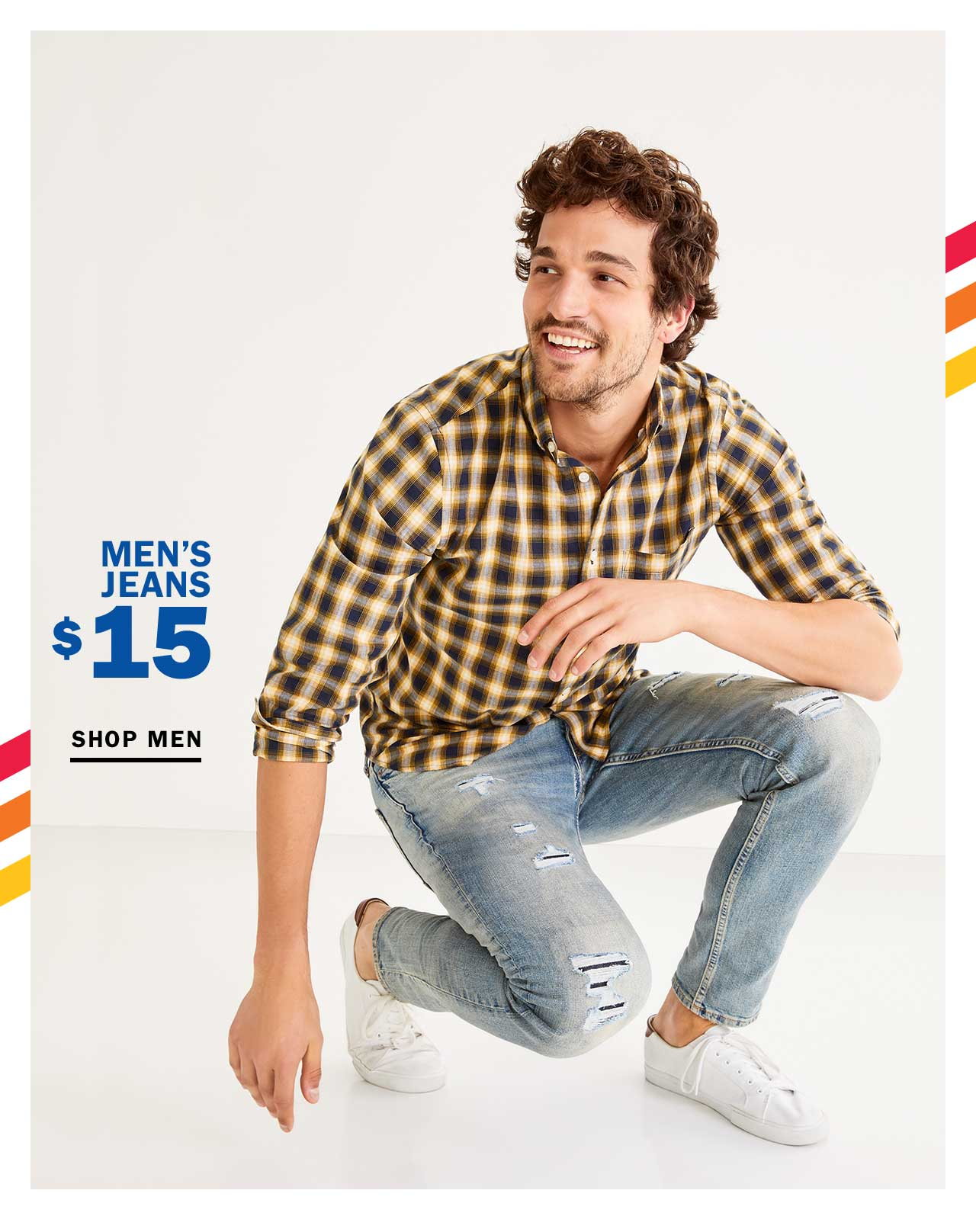 MEN'S JEANS FROM $15 | SHOP MEN