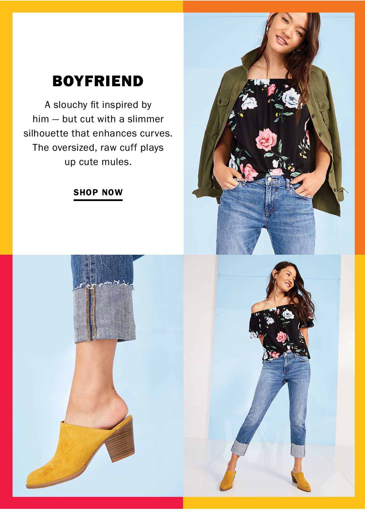 BOYFRIEND | SHOP NOW