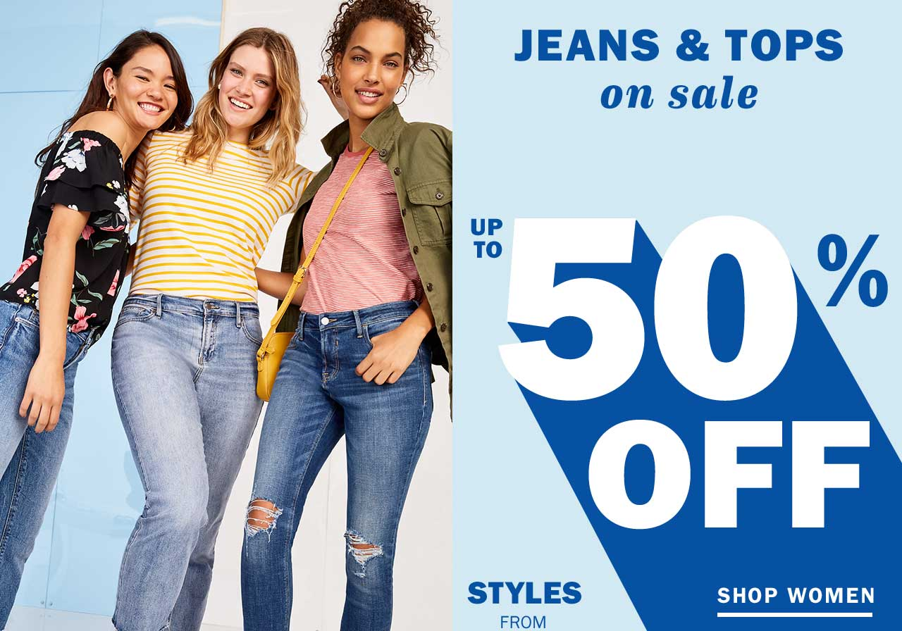 JEANS & TOPS on sale | SHOP WOMEN