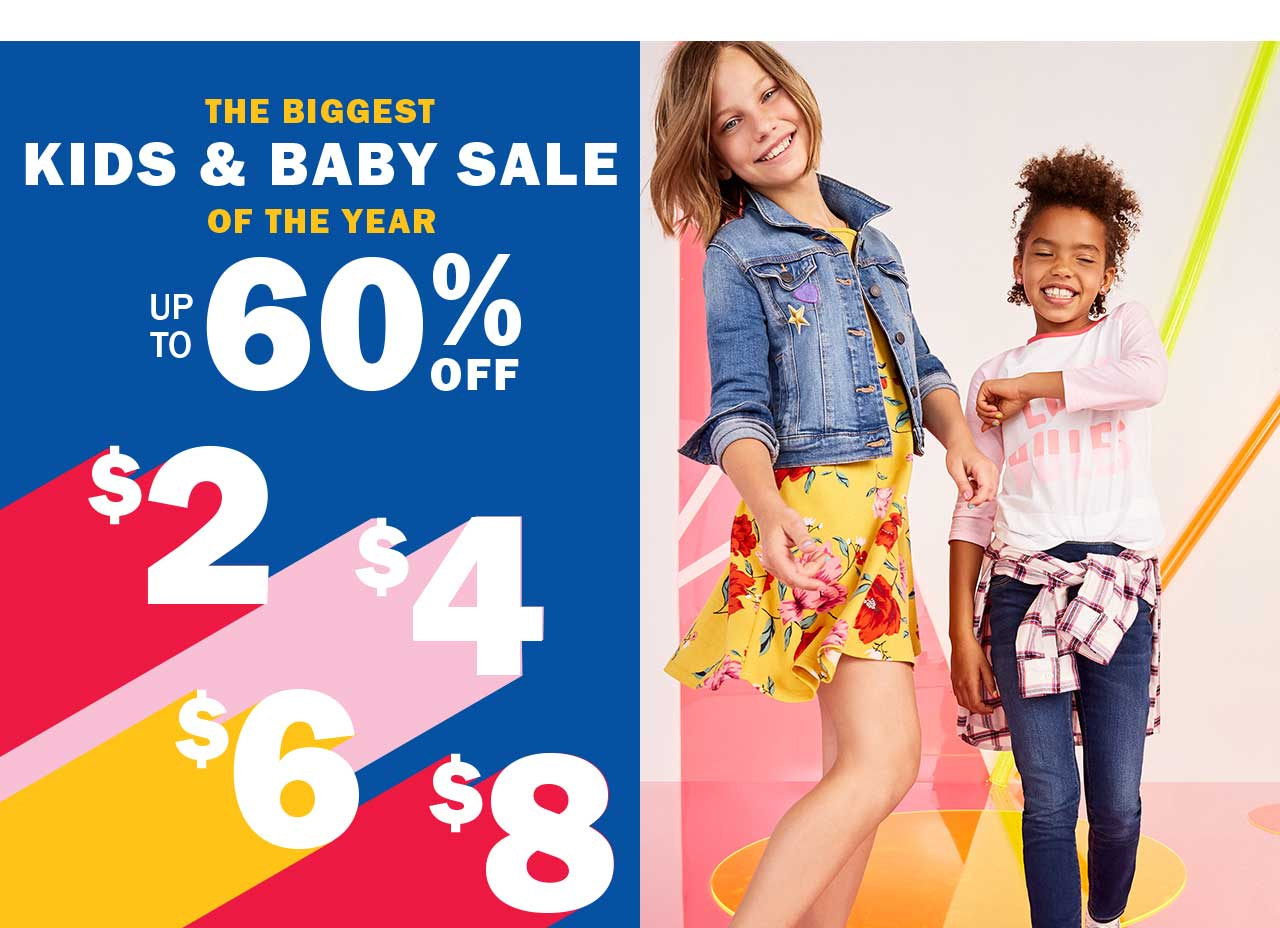 THE BIGGEST KIDS & BABY SALE OF THE YEAR