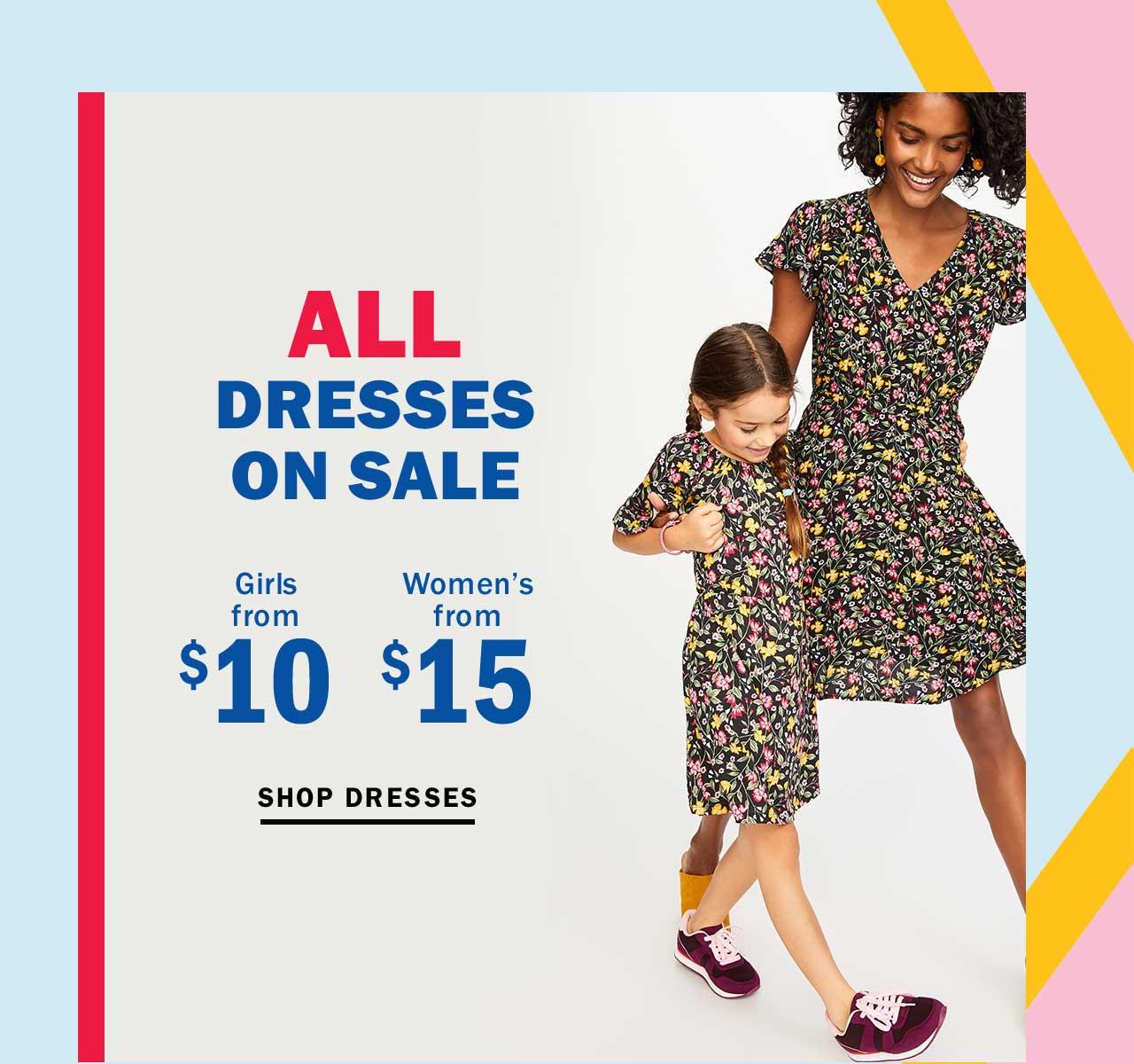 ALL DRESSES ON SALE   SHOP DRESSES