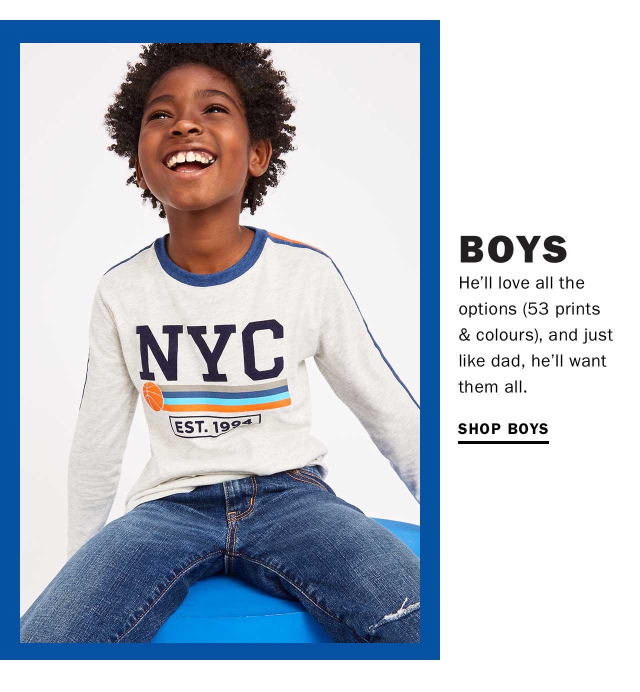 BOYS | SHOP BOYS