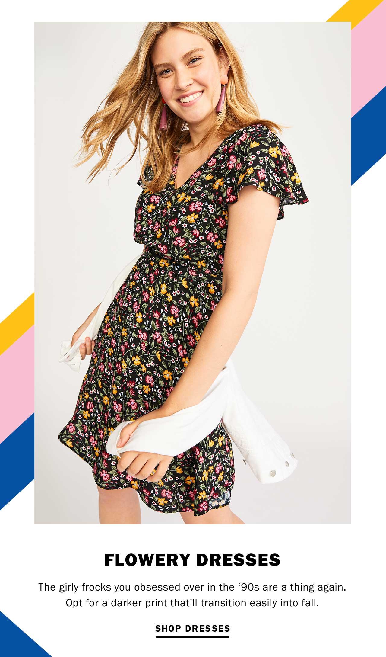 FLOWERY DRESSES | SHOP DRESSES